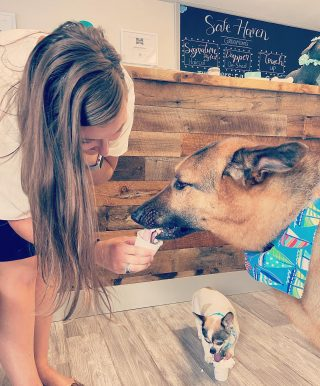 ✨Eli and Timmy love their puppuccinos! They are the sweetest. 😍